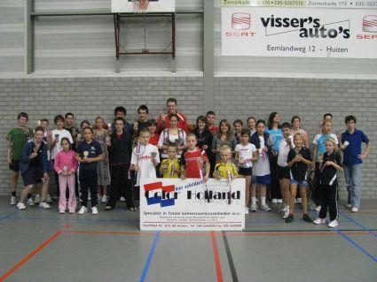 Winnaars 1e jeugdtoernooi