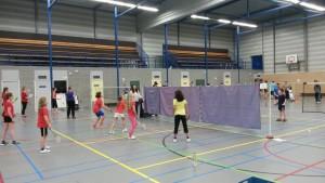 Badminton Sinterklaastoernoo.2