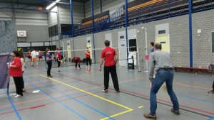 Badminton Sinterklaastoernoo.4